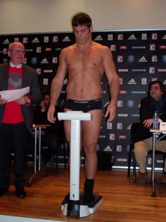 Clemente Russo weigh in
