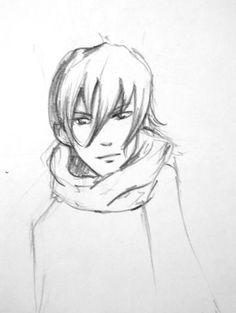 manga/anime boys sketches