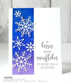 A Blizzard with Jean | SIMPLICITY at its best