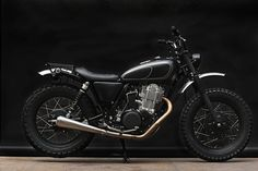 """GuibbonSlap"" Yamaha SR400 by Wrenchmonkees 