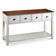 Found it at Wayfair - Chesapeake Console Table
