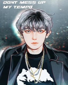 "🏍Exo Fanart Page on Instagram: ""🏁Chanyeol #chanyeol #chanyeolfanart #fanart #exofanart #dontmessupmytempo Cr.PPU_YUM"" Kpop Exo, Park Chanyeol, Baekhyun, Exo Anime, Anime Art, Exo Fan Art, Kpop Drawings, Fanarts Anime, Sketch Painting"