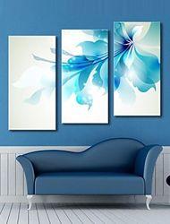 Cuadro flor azul ,