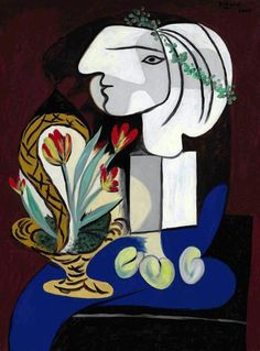 Pablo Picasso - Nature morte aux tulipes, 1932. Christie's London 21 June 2013
