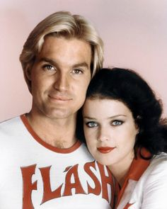 Flash Gordon movie shot of Flash and Dale Arden. #movies #scifi