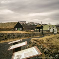 Árbæjarsafn is an open air museum that shows old authentic houses from around 19th and 20th century. Here you can catch a glimpse of how the lifestyle was in the old days in Iceland. There are more than 20 buildings, and some of them are open so you can take a look inside. Would you like to visit? #arbaejarsafn #iceland #reykjavik