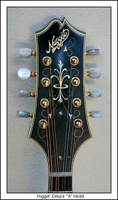 The Mandolin Archive: 1992 Nugget A5 Deluxe Mandolin #155