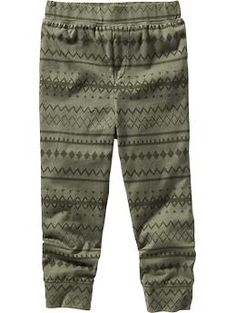 18-24m Patterned Jersey Joggers for Baby | Old Navy
