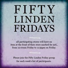 Fifty Linden Friday Logo 2014