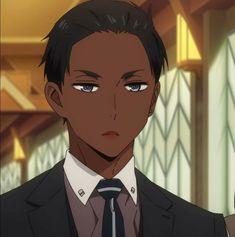 Black Cartoon Characters, Iconic Characters, Anime Demon Boy, Anime Guys, Black Girl Aesthetic, Aesthetic Anime, Arte Black, Black Butler Anime, Black Girl Art