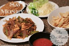 Saving Money Tips: Eat at Home – The 10-Minute Trick on www.time2saveworkshops.com #couponing #deals