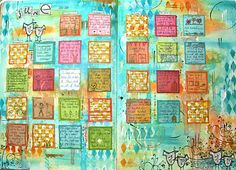 another art-calendar-journal...check out the rest of the year @ http://thekathrynwheel.blogspot.com/2011/12/goodbye-2011.html