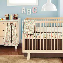 "Complete Sheet 4 Piece Bumper-Free Crib Bedding Set - Alphabet Zoo - Skip Hop - Babies ""R"" Us"