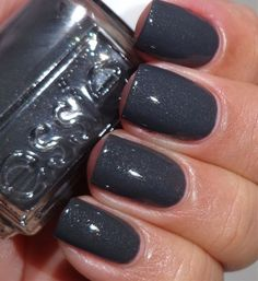 Essie Cashmere Bathrobe from the fall 2013 For the Twill of It collection - Click image to find more nail art posts