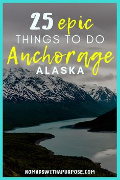 Anchorage may be the largest city in Alaska, but with the steep and jagged Chugach mountains surrounding the city, Anchorage is a haven for outdoorsmen/women and there are so many epic things to do (and most of them are free)! Alaska Travel, Alaska Cruise, Travel Usa, Alaska Trip, Alaska Honeymoon, Alaska Summer, Bergen, Places To Travel, Places To Visit