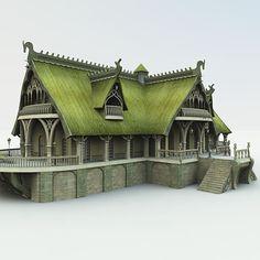 Mirye Software::Special Vendor Categories::Meshbox::Elves::Elven Village Inn