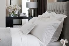 Hotel chic at home http://blog.thewhitecompany.com/little-white-book/get-hotel-style-home/