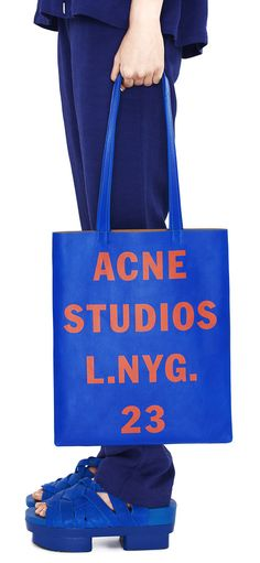 ACNE STUDIOS Rumor electric blue #CRUSH