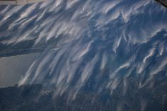 Cirrus clouds from satellite view
