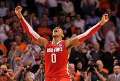 After an action-packed Elite Eight, the Final Four for the 2012 NCAA tournament is set. Ohio State Basketball, Basketball Finals, Best Basketball Shoes, Basketball Pictures, Ohio State Buckeyes, Basketball Hoop, Football, Thad Matta, Cleveland Team