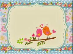 Fazendo a Propria Festa: passarinho
