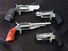 I bought a Freedom Arms mini revolver with a 4 shot. Survival Equipment, Survival Tools, North American Arms, Zombie Life, Indoor Shooting Range, Tactical Guns, Gun Safes, Conceal Carry, Lever Action