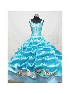Baby Blue Little Girl Pageant Dresses With Appliques and Pick-ups fashionos.com  lovely little girls pageant dresses | inexpensive little girls pageant dresses online | lil girl pageant dresses cheap | 2013 little girls pageant dresses | 2012 2013 little girls pageant dresses | graceful and noble beauty contest dresses in 2014 fall | glamorous and wonderful dresses for glitz pageants 2015 spring | floor length little girl pageant dress | luxurious and fancinating petite miss dress