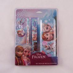 Set penar metal echipat Frozen FRZ05020 Frozen Disney, Metal, Art, Character, Art Background, Kunst, Metals, Performing Arts, Disney Frozen
