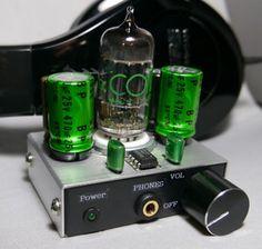 YAHA Amp Vacuum tube Headphone amplifier