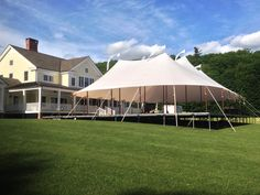 Our country tent flooring and tidewater tents make un-level ground a perfect place for a wedding!