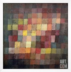 Ancient Harmony, 1925 Framed Giclee Print by Paul Klee at Art.com