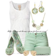 Summer Mint !, created by stay-at-home-mom on Polyvore