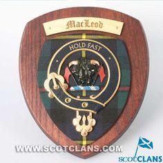 MacLeod Clan Crest Plaque