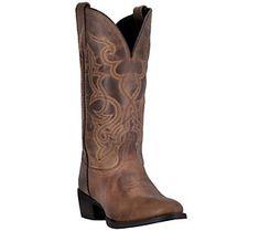 Laredo Leather Western Boots - Maddie