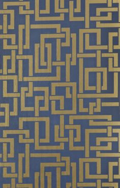 « Enigma » wallpaper (Farrow & Ball).