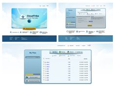 File sharing/storage Portal which is built on the concept of Dropbox.com -  one of the very large scale project.