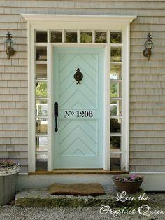 Mint door: I wonder if Evan would go for this!
