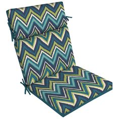 Shop Garden Treasures  Blue Flame Stitch Chair Cushion at Lowe's Canada. Find our selection of patio cushions at the lowest price guaranteed with price match + 10% off.