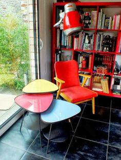 Tuneando muebles de Ikea: Mesita de los años 50