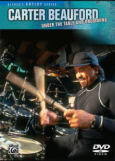 Alfred - Carter Beauford - Under The Table And Drumming Dvd