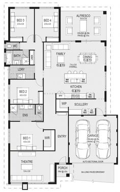 Looking to build a new home? Check out Home Group's latest home designs online. Browse our house range and then plan a visit to our Display Centre today. Cottage Floor Plans, Bungalow House Plans, Dream House Plans, Small House Plans, House Floor Plans, My Dream Home, Latest House Designs, Home Design Floor Plans, Floor Plan Layout