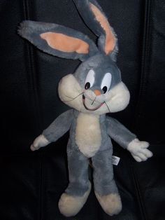 Warner Bros Bugs Bunny Plush with Poseable Ears -- Visit the image link more details. (This is an affiliate link) Bunny Plush, Bugs Bunny, Warner Bros, Puppets, Ears, Disney Characters, Fictional Characters, Image Link, Cartoons