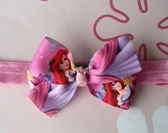 Faixa Rosa Laço Ariel