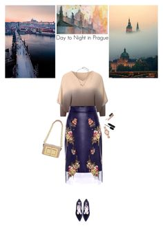 """Day to Night in Prague"" by helena99 ❤ liked on Polyvore featuring Alexander McQueen, Tom Ford, Kendra Scott, Michael Kors, Marc Jacobs, MAC Cosmetics, sweaters, leatherskirts and Prague"