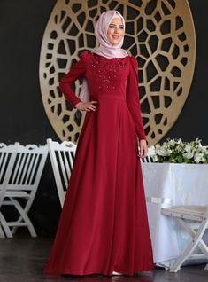 e3351d7d4a40b Long Sleeve Muslim Evening Dresses