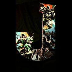 Comic book letter, superhero