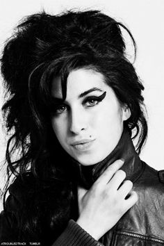 """camdenmusic: """"After 4 years . I still miss you Amy.P Queen of Camden """" Jazz, I Still Miss You, Back To Black, Black And White, Amazing Amy, Star Wars, Beautiful Voice, Her Music, Human Body"""