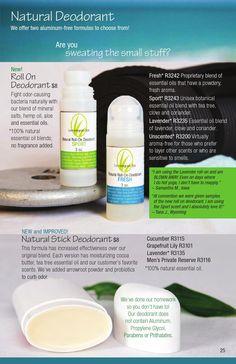 Natural Deodorants ISSUU - 2014-2015 Catalog by Lemongrass Spa Products Www.ourlemongrassspa.com/andreasutton