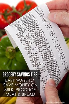 Awesome Tips to Save Money on Milk, Meat, Bread and Produce!