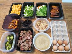 Food Prep Ideas For A Week of Healthy Eating!